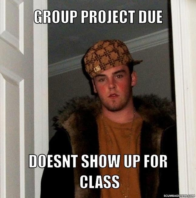 Group project due doesnt show up for class 45cb06