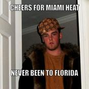 Cheers for miami heat never been to florida 9c4df6