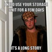 I need use your storage unit for a few days it s a long story 39a1cd