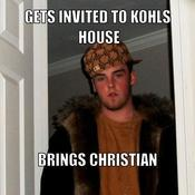 Gets invited to kohls house brings christian 53b79b