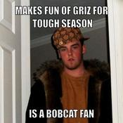 Makes fun of griz for tough season is a bobcat fan a6e806