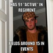 Has 91 active in regiment fields around 15 in events b1e9fe