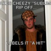Makes cheezy sublime rip off labels it a hit fb6635