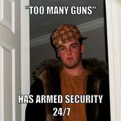 Too many guns has armed security 24 7 0ed833