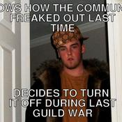 Knows how the community freaked out last time decides to turn it off during last guild war b273ba