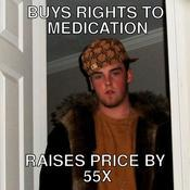 Buys rights to medication raises price by 55x 249634
