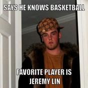 Says he knows basketball favorite player is jeremy lin 096307