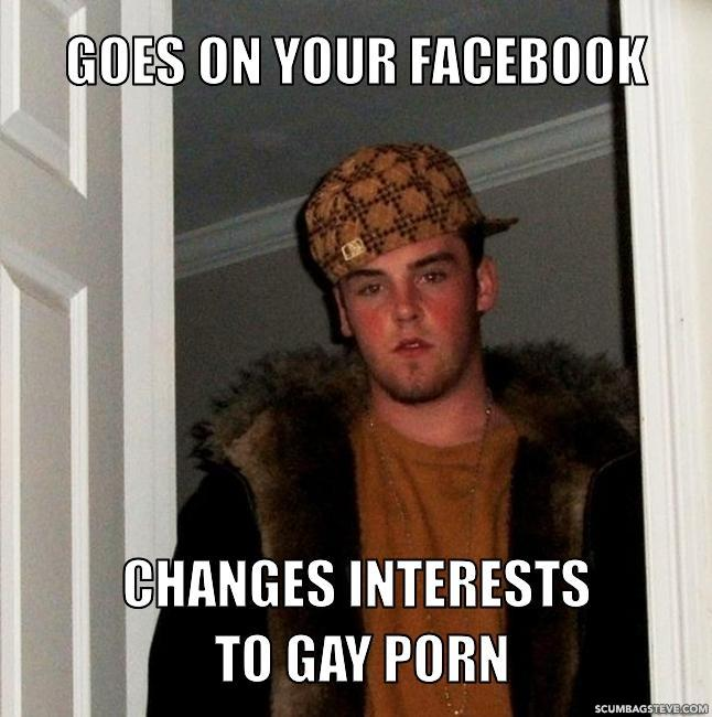 Goes on your facebook changes interests to gay porn 2447af