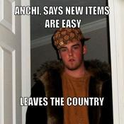 Anchi says new items are easy leaves the country 5ffa6a