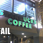 Fail owned starbucks fail