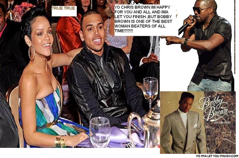 Kanye vs chris breezy