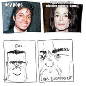 Son disappoint michael jackson
