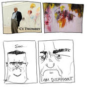 Disappoint cy twombly