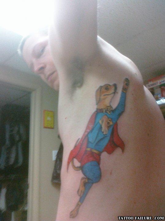 Funny gay tattoo