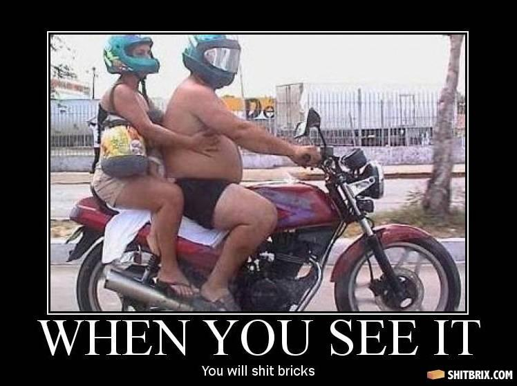 Motorcycle couple 46678
