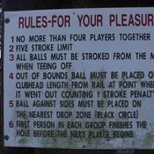 Rules for pleasure