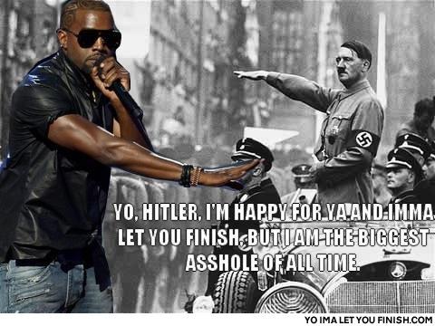 Kanye West Imma Let You Finish Meme Blank