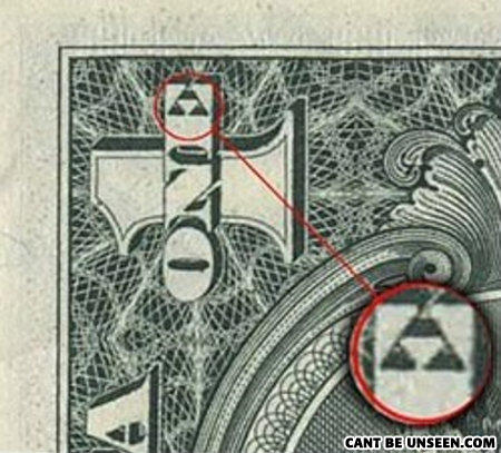 Triforce dollar