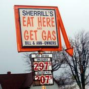 Eat here get gas