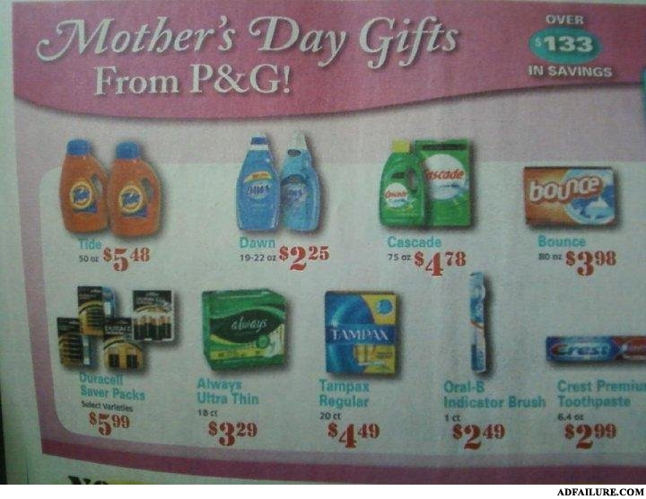 Mothersday fail