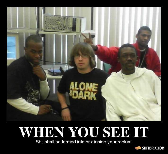 white guy black